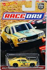 Hot Wheels Mazda RX3 Race Day Car Culture Series DWH77 New NRFP 2016 Yellow 1:64