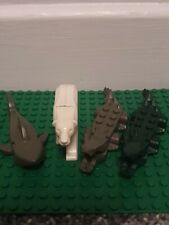 Lego Animals Shark Polar Bear And Crocodiles x 2