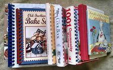 8 Lot Misc Better Homes Gardens Paula Deen Bake Sale Cape Cod Cambells VG