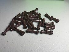 LEGO MINIFIGURE UTENSIL TELESCOPES DARK BROWN - NEW (x30) 64644