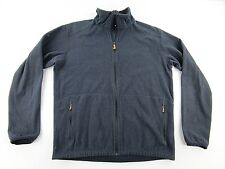 Fjallraven Mens Sten Fleece Jacket Blue Full Zip SIZE XL