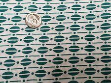 New ListingBest Vintage Feedsack Quilt Fabric Novelty Geometric Green Sugar Flour Sack