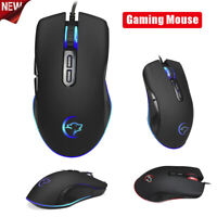 3200DPI LED 7 Button Mice USB Wired Pro Gaming Mouse For PC Laptop game Computer