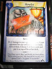 HARRY POTTER TCG GAME CARD CHAMBER OF SECRETS HOWLER 116/140 COM MINT ENGLISH