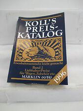 Koll, s catálogo de precios recopilar ferroviario fácil banda 2 1996 wt3438