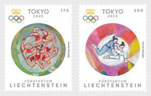 2020   LIECHTENSTEIN - SG: TBC - SUMMER OLYMPICS,TOKYO - UNMOUNTED MINT