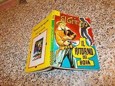 EL GRINGO N.7 CORNO 1966 ORIGINALE OTTIMO TIPO NERI DIABOLIK SATANIK KRIMINAL