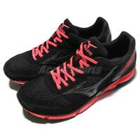Mizuno Wave Emperor W Black Pink Women Running Shoes Sneakers J1GB1676-89