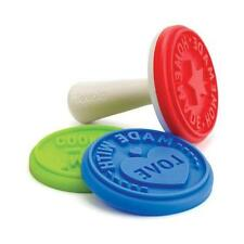 NEW Tovolo Silicone Cookie Biscuit Stamps - Set 3 - Made with Love, Homemade
