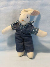 Cloth Country Rabbit Collectible