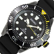 Seiko Prospex Solar 200M Divers Mens Watch Rubber Strap SNE441P1 UK Seller