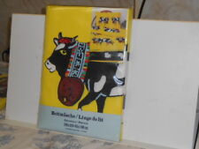 German Bettwasche Cow Patterned Bed Sheets New in Bag