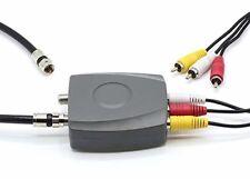 RCA/Composite A/V to RF/Coax / Coaxial Converter Modulator Signals Converters