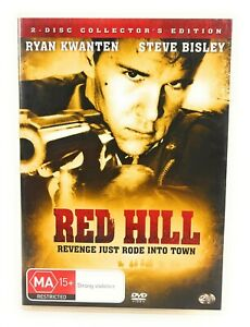 Red Hill (DVD, 2010) 2 Disc Collector's Edition Ryan Kwanten Region 4