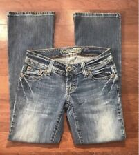 AEO American Eagle Outfitters Womens Short Artist Jeans Size 0 Denim