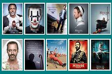 House (Hugh Laurie) TV - Poster Cartolina Set #2