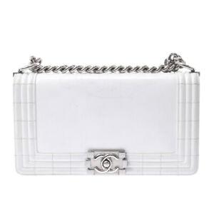 CHANEL ChainShoulder white Bag 800000091056000