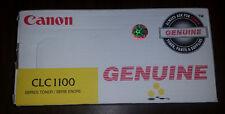 GENUINE Canon CLC1100 Yellow Toner Cartridge 1441A003AA, BNIB