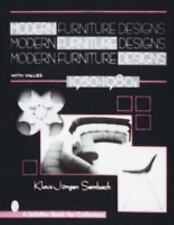 MODERN FURNITURE DESIGNS 1950-1980S - NEW HARDCOVER BOOK