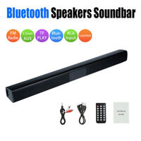 Wireless Bluetooth Speaker System Sound Bar Audio Surround For Theater Home TV