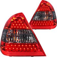 LED Rückleuchten Set Mercedes C Klasse W202 Limousine Bj 93-00 rot smoke schwarz