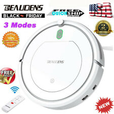 Beaudens Smart Robot Vacuum Cleaner Floor Cleaning Sweep W/ Remote Control Xmas