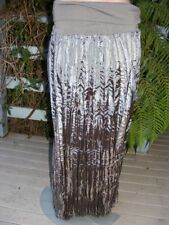 Polyester Long Regular Size Maxi Skirts for Women