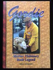 Gordie! Merino Visionary & Bush Legend Sheep Breeding Sheepclasser Signed Book