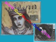 CD singolo P.O.D.Will You AT0166CD US 2003 SIGILLATO no lp mc vhs dvd(S30)