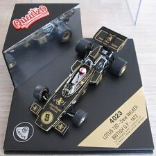 F1 1/43 LOTUS 72D D. WALKER BRITISH GP 1972 QUARTZO 4023