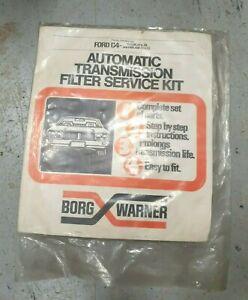 NOS GENUINE BORG WARNER FORD C4 AUTO TRANSMISSION SERVICE KIT XY XA XB XC XD