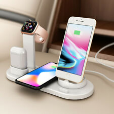 Wireless Charger 3 in 1 Charging Dock for Apple Watch 5/4/3/2 & Air Pods Station