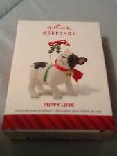 2014 Hallmark Keepsake Ornament PUPPY LOVE SERIES 24TH IN THE SERIES  NEW IN BOX