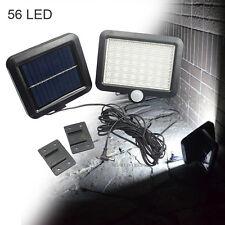 56 LED Garden Outdoor Solar Powerd Motion Sensor Light Security Yard Flood Lamp