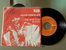"ELVIS PRESLEY I'VE LOST YOU / THE NEXT STEP IS LOVE 1970 RECORD YUGOSLAVIA 7"" PS"