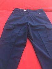 Cintas Comfort Flex Navy Blue Cargo Pants Size 32x30  #270-20 Loose Fit