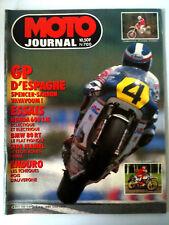 N°700 MOTO JOURNAL Honda 600 LM/GP d'Espagne/Side Jeani