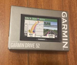 "NEW Garmin Drive 52 5"" GPS Navigator USA CANADA PUERTO RICO 010-02036-06 - Black"