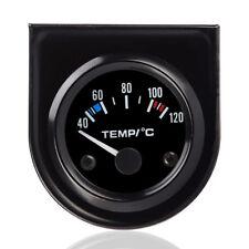 52 mm Thermomètre Jauge Température Eau Avec Aiguille Voiture 40-120 ℃ LED BR