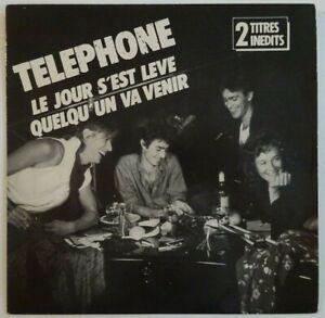 TELEPHONE (Aubert Bertignac) LE JOUR S'EST LEVÉ (+ INEDIT) ♦ RARE 45 TOURS ♦