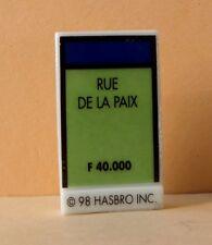 Fève Le Jeu de Monopoly - 1999 - La Rue de la Paix
