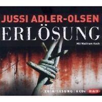 JUSSI ADLER-OLSEN - ERLÖSUNG 6 CD NEW