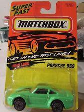 Matchbox Porsche 959 #51 Green