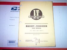 heavy equipment manuals books for brush hog mf255 mf265 mf275 massey ferguson tractor i t shop manual w wiring diagrams