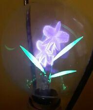 Cool Vintage Neon Glow Flower Light Bulb