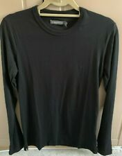French Connection Mens Long Sleeve Black T-Shirt Size Small BNWT