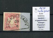 "BAYERN Nr.15 Bfs. HKS ""LUDWIGSTADT 25 8"" bestgeprüft SEM BPP !!! (126788)"