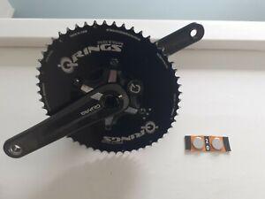 Quarq Elsa Carbon Power Meter Rotor Aero Q-rings BB30 170mm