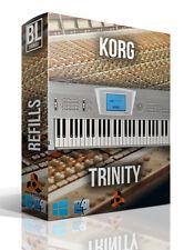 KORG TRINITY PRO REASON REFILL SAMPLES LOOPS SOUNDS PIANO SYNTH BASS