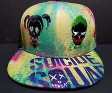 New Era 59Fifty Suicide Squad All Over Fitted Harley,Joker,Deadshot K.Croc 7 5/8